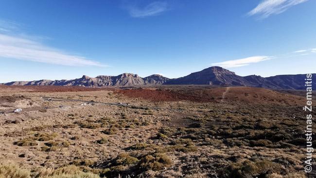 Teidės vulkaninės lygumos