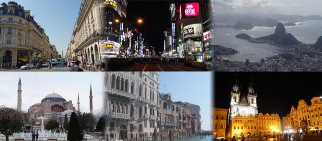Įdomiausi pasaulio miestai