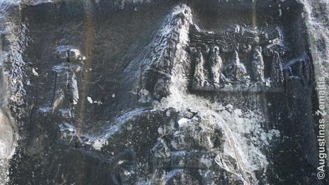 Hetitų bareljefai ant uolų jų buvusioje sostinėje Hatušoje. Jiems - 4000 metų