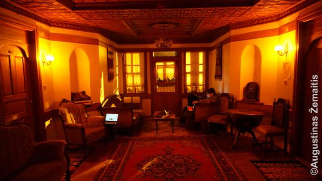 Tradicinio osmaniško viešbučio Safranbolu interjeras