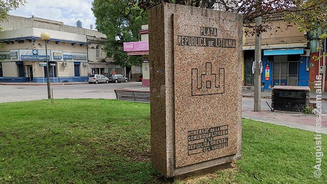 Montevidėjo lietuvių aikštė