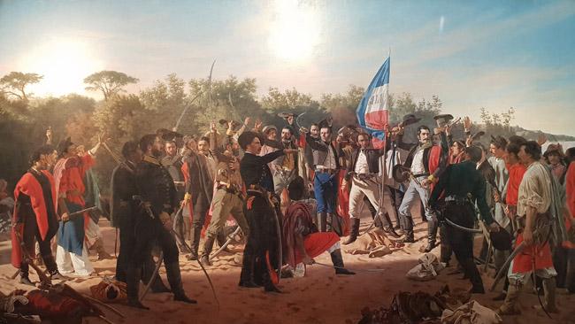 Artigas garsiausio Urugvajaus dailininko Blaneso kūryboje (Blaneso muziejus)