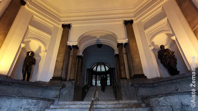 Didingas Montevidėjo pašto vidus