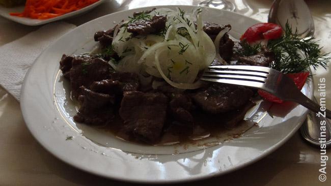 Džiz mėsos patiekalas