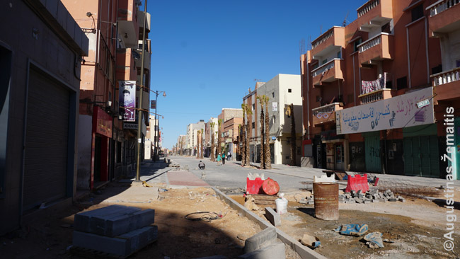 Naujai tvarkoma Lajūno gatvė