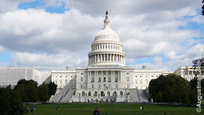 Vašingtono kapitolijus - JAV parlamentas