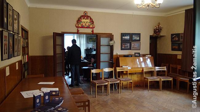 Venclovų namuose