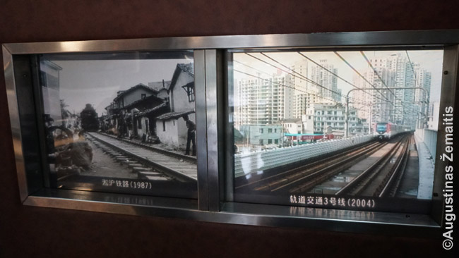 Viešojo transporto pokyčiai Šanchajuje