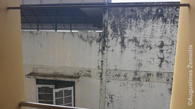 Viešbučio Nong Khajuje Tailande Booking.com  nuotrauka rodė balkoną su vaizdu į miestą, bet iš mano numerio vaizdas buvo štai toks