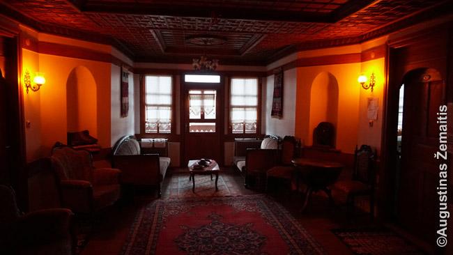 Viešbutis istoriniame name Turkijoje