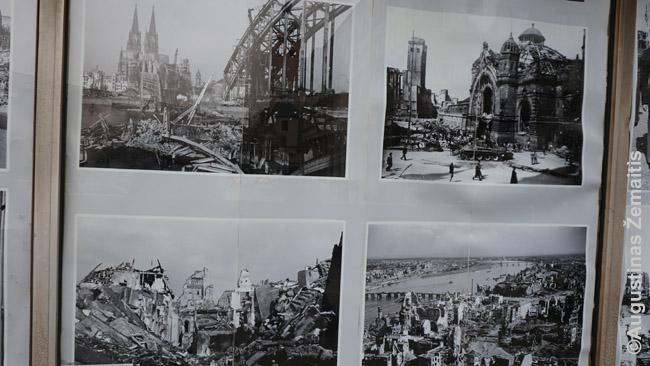 Po Antrojo pasaulinio karo sugriautas Kelnas