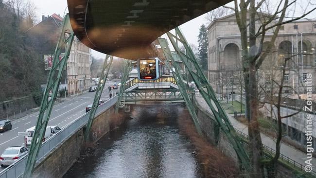 Prasilenkia Vupertalio Švėbebano traukiniai