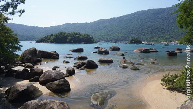 Vienas gausybės Ilha Grande paplūdimių