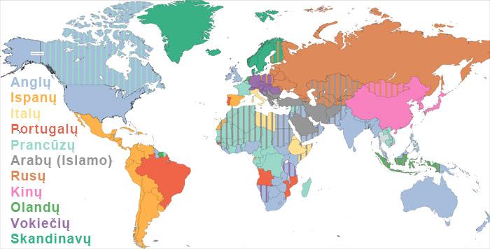 Kokios imperijos kurios tautos (įskaitant jų valdas) valdė ar smarkiausiai įtakojo